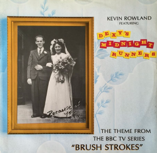 "Kevin Rowland ft Dexys Midnight Runners ‎- Because Of You (12"") (VG++/VG+)"
